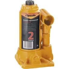 Домкрат гидравлический бутылочный, 2 т, h подъема 148–278 мм Sparta [50321]