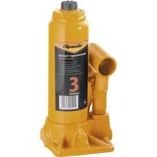 Домкрат гидравлический бутылочный, 3т, h подъема 180-340 мм Sparta [50322]