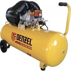 Компрессор воздушный PC 2/100-360, 2.3 кВт, 360 л/мин, 100л, 10 бар Denzel [58078]