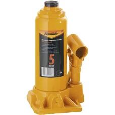 Домкрат гидравлический бутылочный, 5 т, h подъема 195-380 мм Sparta [50323]