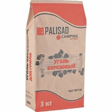 Уголь берёзовый, 3 кг Palisad Camping [69545]