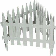 "Забор декоративный ""Рейка"", 28 х 300 см, белый// Palisad [65004]"