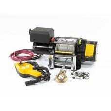 Лебедка автомобильная электрическая LB- 2000, 2,2 т, 3,2 кВт, 12 В Denzel [52021]