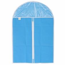 Чехол для хранения одежды на молнии (нетканый материал + ПВХ), 60х135см// Elfe [93116]