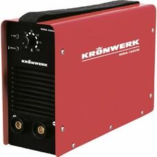 Аппарат инверторный дуговой сварки ММА-180IW, 180 А, ПВР 60%, OE электрода 1,6-4 мм, провод 2 метра Kronwerk [94342]