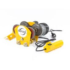 Каретка электрическая для тельфера Т-1000, 1 т, 540 Вт Denzel [52009]