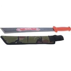 Мачете туристическое 490 мм, пластиковая рукоятка, жесткий чехол (АРТИ)