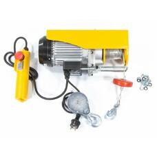 Тельфер электрический TF500, 0,25/0,5 т, 1020 Вт, высота 6/12 м, 10 м/с Denzel [52012]