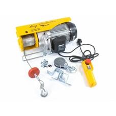Тельфер электрический TF1000, 1 т, 1600 Вт, высота 12 м, 8 м/с Denzel [52016]