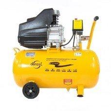 Компрессор пневматический Denzel OC 1/50-206 1.5 кВт [58066]
