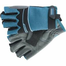 Перчатки комбинированные облегченные открытые пальцы AKTIV L Gross [90316]
