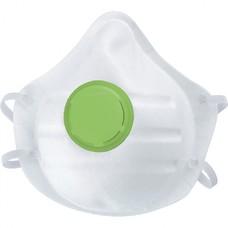 Полумаска фильтрующая (респиратор), формованная, с клапаном выдоха, FFP1 NR, 10 шт. СибрТех [89252]
