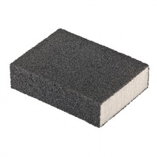 Губка для шлифования, 100 х 70 х 25 мм., средняя плотность, P60 MATRIX
