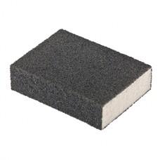 Губка для шлифования, 100 х 70 х 25 мм., средняя плотность, P100 MATRIX