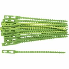 Подвязки для садовых растений 17 см. пластиковые, 50 штук Palisad [64394]