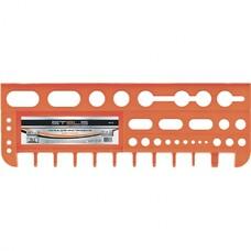 Полка для инструмента 47,5 см., оранжевая Stels [90718]