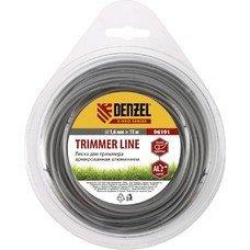 Леска для триммера армированная алюминием, X-Pro, круглая, 1,6мм х 15м, блистер// Denzel [96191]