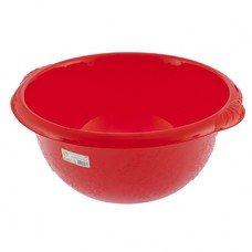 Таз пластмассовый круглый 16 л красный ТМ Elfe  [92986]