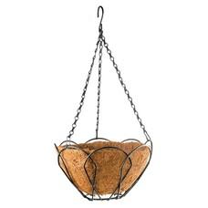 Подвесное кашпо, 30 см, с кокосовой корзиной// Palisad [69002]