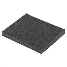 Губка для шлифования, 125 х 100 х 10 мм., мягкая, P100 MATRIX