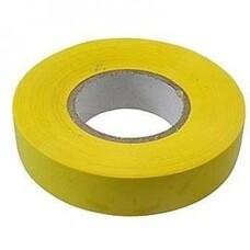 Изолента ПВХ, 15 мм х 10 м, желтая СибрТех [88790]