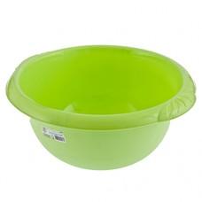 Таз пластмассовый круглый 9л зеленый ТМ Elfe [92975]