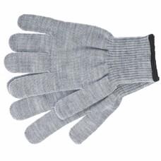 Перчатки трикотажные, акрил, цвет: серая туча, оверлок СибрТех [68652]