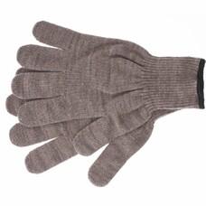 Перчатки трикотажные, акрил, цвет: коричневый, оверлок СибрТех [68653]