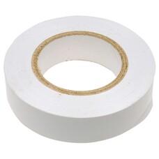 Изолента ПВХ, 15 мм х 10 м, белая СибрТех [88792]