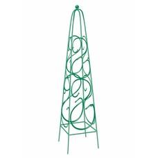 Пирамида садовая декоративная для вьющихся растений, 112,5 х 23 см, квадратная// Palisad [69126]