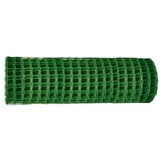 Заборная решетка в рулоне 1,5 х 25 метров, ячейка 55 х 55 мм. цвет хаки