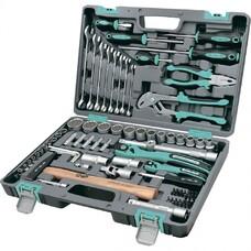 Набор инструментов 76 предметов, 12 гранные головки Stels [14116]