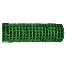 Заборная решетка в рулоне 1,8 х 25 метров, ячейка 60 х 60 мм. цвет зеленый