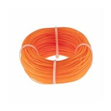 Леска строительная, 100 метров, D 1 мм, цвет оранжевый СибрТех [84838]