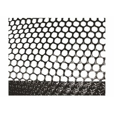 Сетка газонная в рулоне 2х30, ячейка 9х9 мм - черная