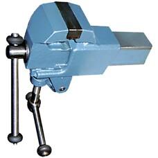 Тиски слесарные, 63 мм, крепление для стола, винтовой зажим (Глазов)