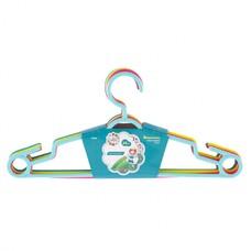 Вешалка пластиковая для легкой одежды 38 см, цветная, 5 шт в комплекте Elfe [92930]