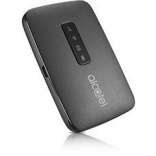 Модем 2G/3G/4G Alcatel Link Zone USB Wi-Fi Firewall +Router внешний черный [mw40v-2aalru1]