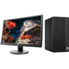 Комплект HP 290 G1, Intel Core i3 7100, DDR4 4Гб, 1000Гб, Intel HD Graphics 630, DVD-RW, Free DOS, черный [2tp49es]
