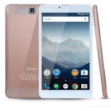 Планшет GINZZU GT-7210, 1GB, 8GB, 3G, 4G, Android 7.0 розовый [00-00001035]