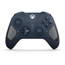 Геймпад Беспроводной Microsoft Patrol Tech синий для: Xbox One (WL3-00073)