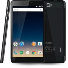 Планшет GINZZU GT-7210, 1GB, 8GB, 3G, 4G, Android 7.0 черный [00-00001033]