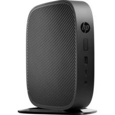 Тонкий клиент HP Flexible t530, AMD GX-215JJ, DDR4 4Гб, 8Гб(SSD), AMD Radeon R2E, HP Smart Zero, черный [2dh77aa]