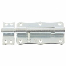 Задвижка накладная ЗТ-2-100, цинк, 5 шт, (Металлист)