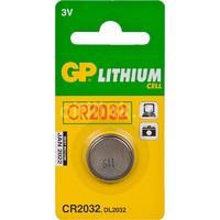 Батарея GP Lithium 1 шт. CR2032