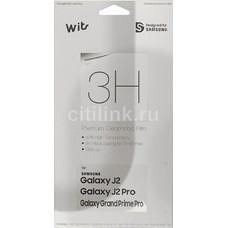 Защитная пленка для экрана SAMSUNG WITS для Samsung Galaxy J2 2018, прозрачная, 1 шт [gp-j250wsefaaa]