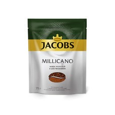 Кофе растворимый JACOBS MONARCH Millicano, 75грамм [8050065]