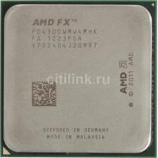 Процессор AMD FX 4300, SocketAM3+ OEM [fd4300wmw4mhk]