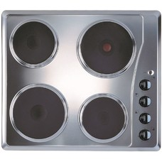 Варочная панель INDESIT TI 60 X, электрическая, независимая, нержавеющая сталь