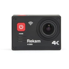 Экшн-камера REKAM A320 4K, WiFi, черный [2680000006]